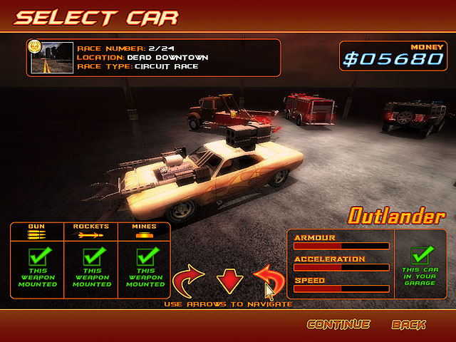 Battle Cars Games Pack Screenshot 2