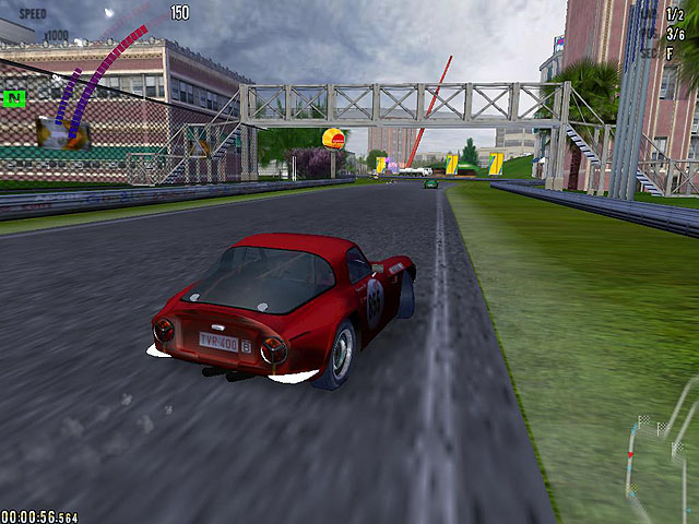 six hours, 6 hours, endurance race, auto racing classic, download free game
