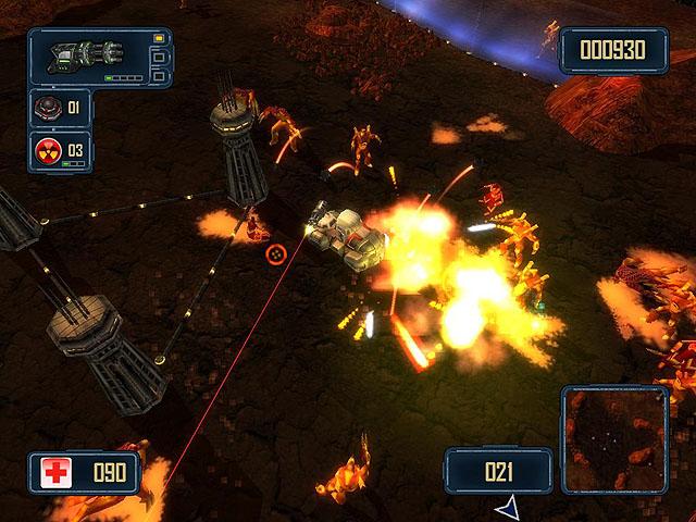 Click to view Alien Strike 1.05 screenshot
