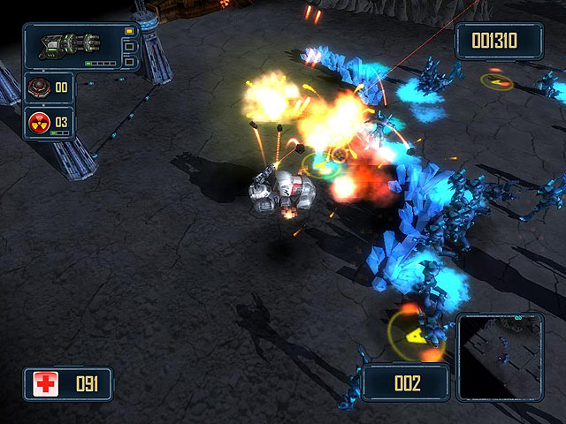 Alien Strike Screenshot 2