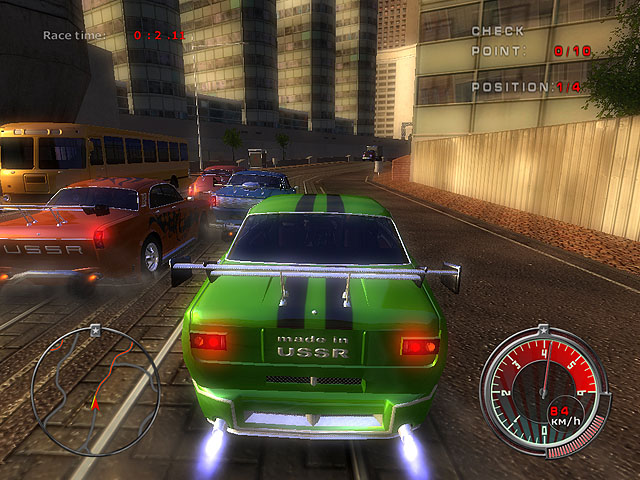 3D racing game. The world financial crisis led to the victory of communism. well known Screen Shot