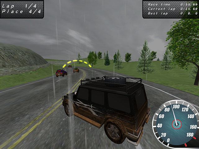 Crazy Offroad Racers Screenshot 2