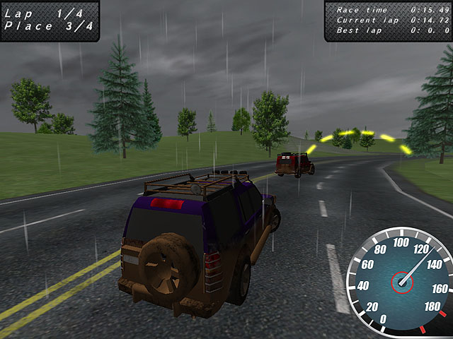 Crazy Offroad Racers Screenshot 4