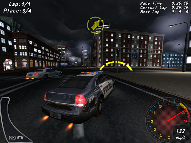 Crazy Police Racers full screenshot