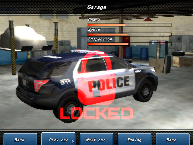 Crazy Police Racers Screenshot 3