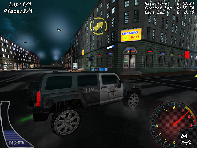 Crazy Police Racers Screenshot 4