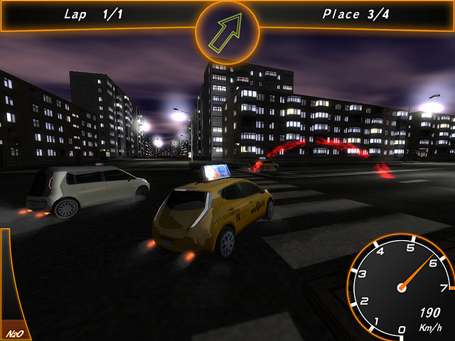 Crazy Taxi Racers Screenshot 2