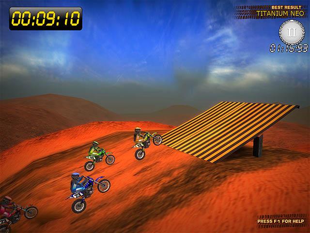 Desert Moto Racing Screenshot 1