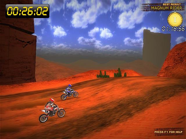 Click to view Desert Moto Racing 1.0 screenshot