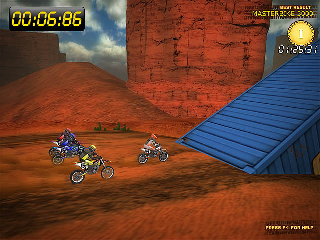 Desert Moto Racing Screenshot 5