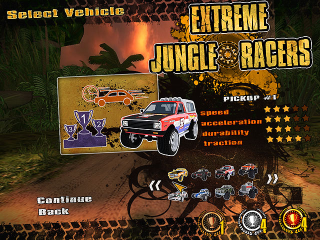 Extreme Jungle Racers Screenshot 3