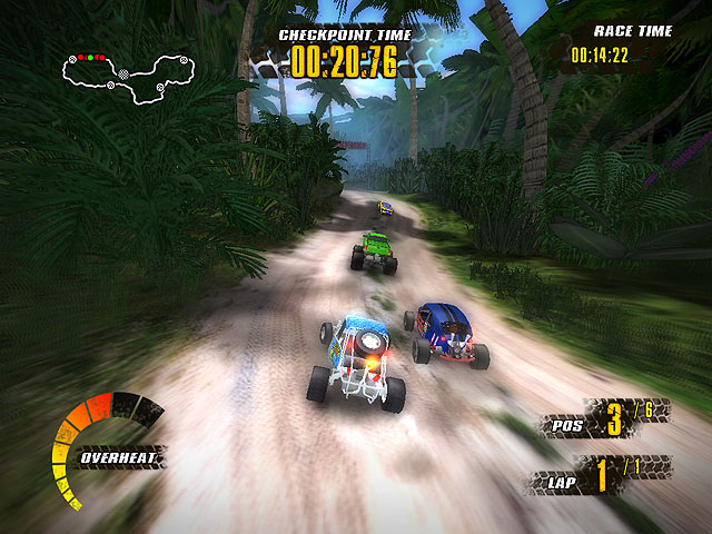 Click to view Extreme Jungle Racers 1.06 screenshot