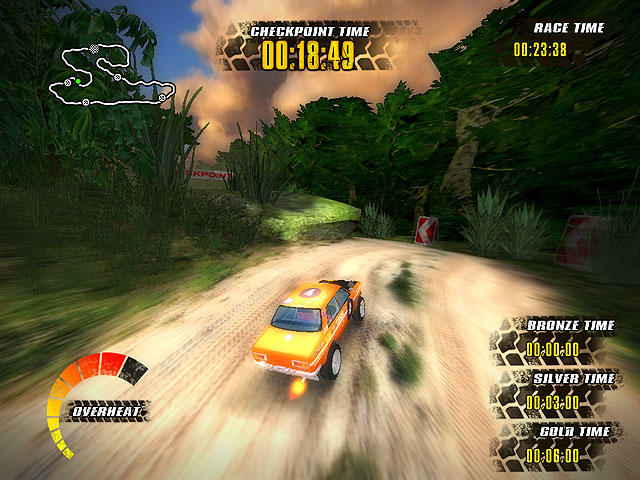 jungle racers, off road racing, offroad race, extreme, 3d racing game, download free game, truck, rally