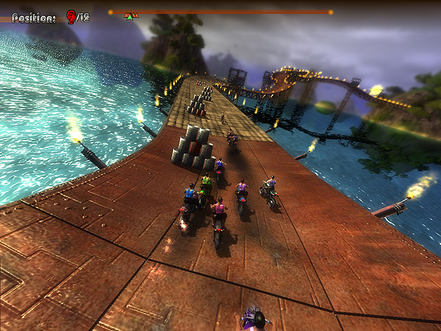 Click to view Extreme Motorbikers 1.18 screenshot
