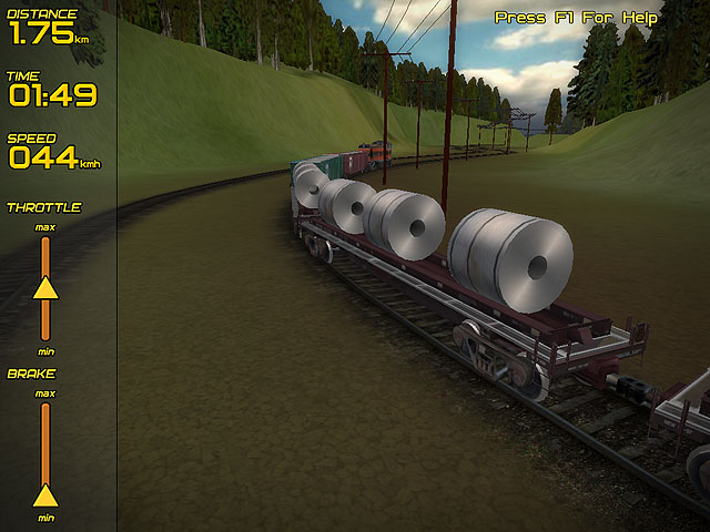 Freight Train Simulator Capture d'Écran 1