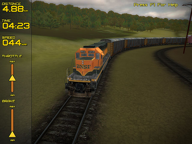 Click to view Freight Train Simulator 2.10 screenshot