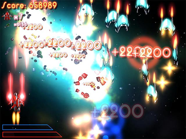 galaxy indavers, scroll shooter, space game, 3d game, download free game