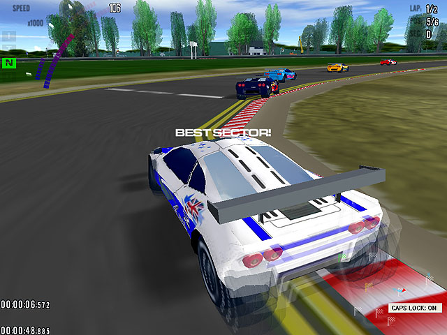 Grand Prix Racing Screenshot 1