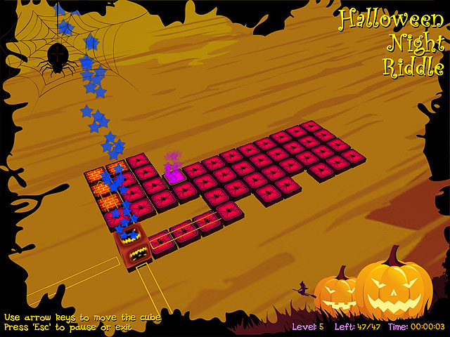 Click to view Halloween Night Riddle 1.46 screenshot