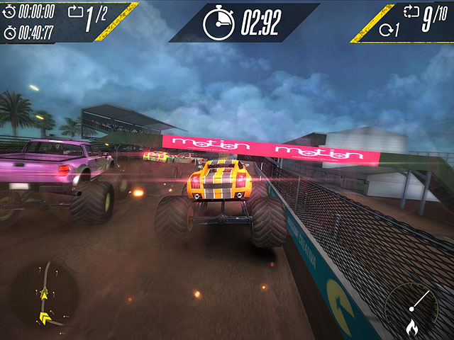 Insane Monster Truck Racing Screenshot 1