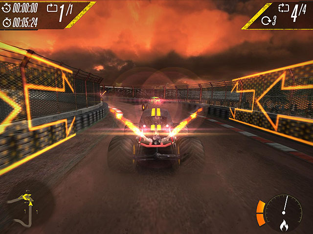 Insane Monster Truck Racing Screenshot 2