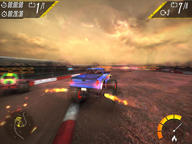 Insane Monster Truck Racing Screenshot 4