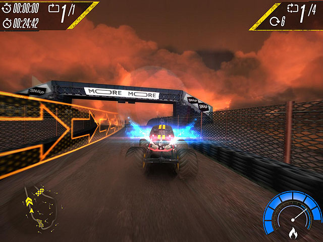 Insane Monster Truck Racing Screenshot 5