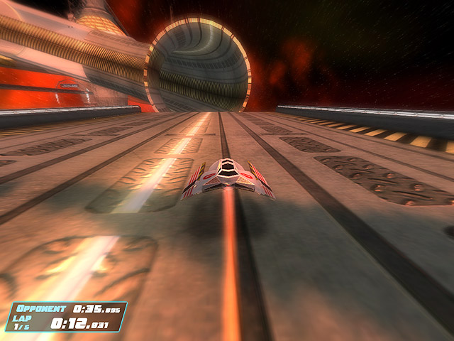 Jet Lane Racing Screenshot 1