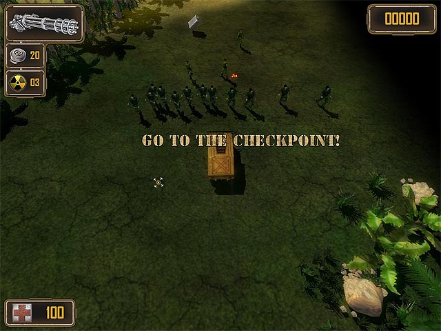Jungle Strike Screenshot 1