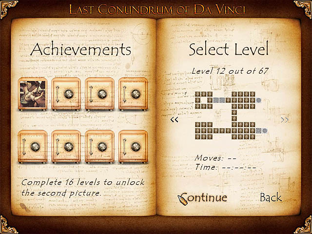 Last Conundrum of Da Vinci Deluxe Screenshot 1