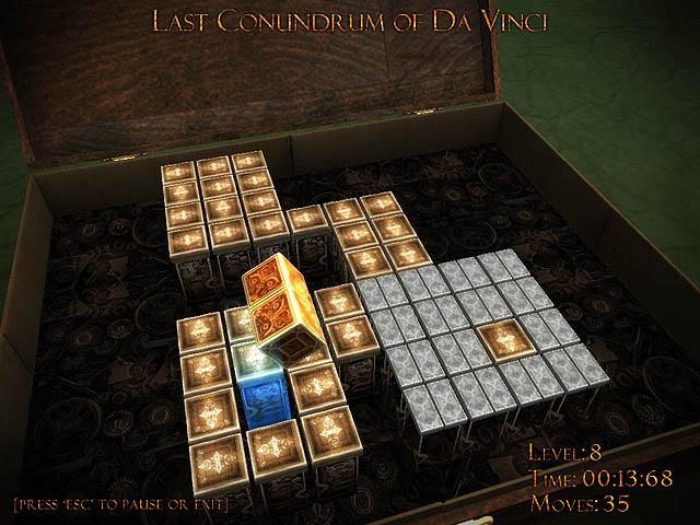 3D logic/puzzle board game.