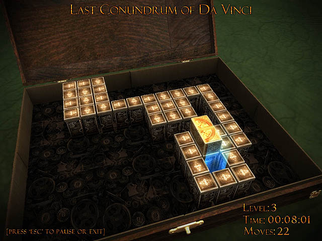 Click to view Last Conundrum of Da Vinci Deluxe 1.15 screenshot