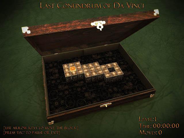 Last Conundrum of Da Vinci Deluxe screenshot