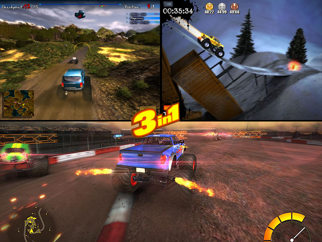 Monster Truck Games Pack Screenshot 1