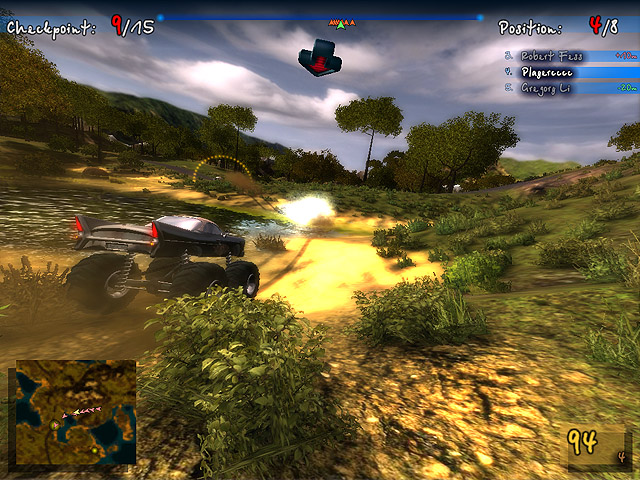 Monster Truck Safari Screenshot 2