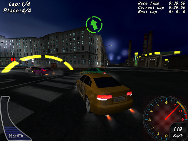 Click to view Night Street Racing 1.85 screenshot