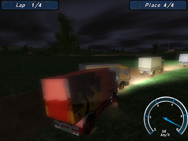 Night Truck Racing Screenshot 4