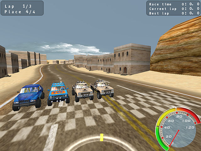 Pickup Racing Madness Screenshot 1