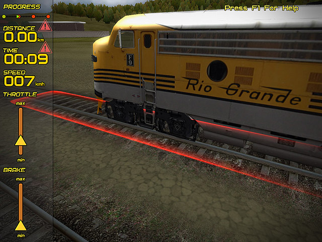 Passenger Train Simulator Screenshot 2