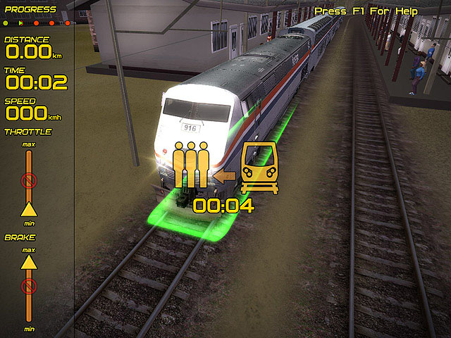 Passenger Train Simulator full screenshot