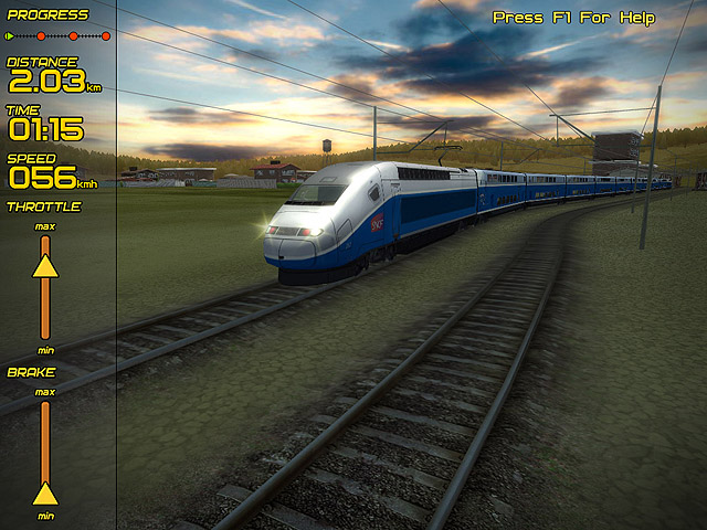 Screenshot of Passenger Train Simulator