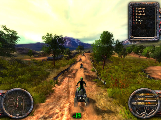 Click to view Quadro Racing 1.99 screenshot