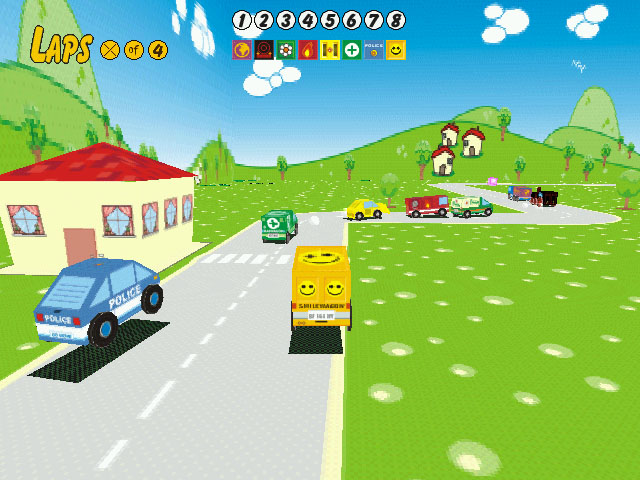 Sunny Drivers Screenshot 1