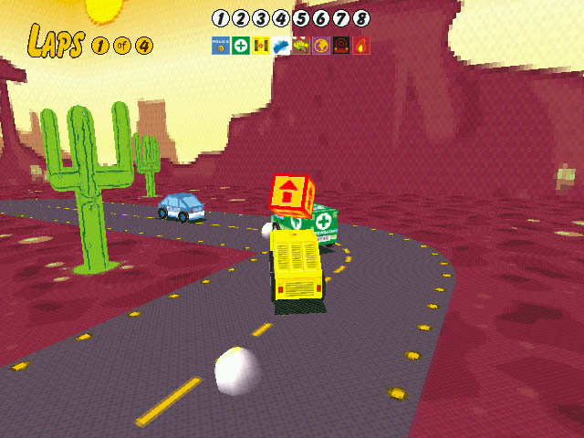 Sunny Drivers Screenshot 3