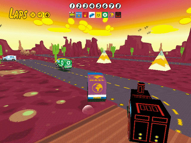 Sunny Drivers Screenshot 4