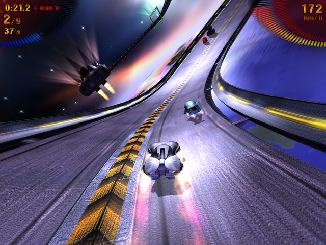 Space Extreme Racers Screenshot 2