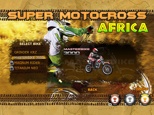 Super Motocross Africa Screenshot 1