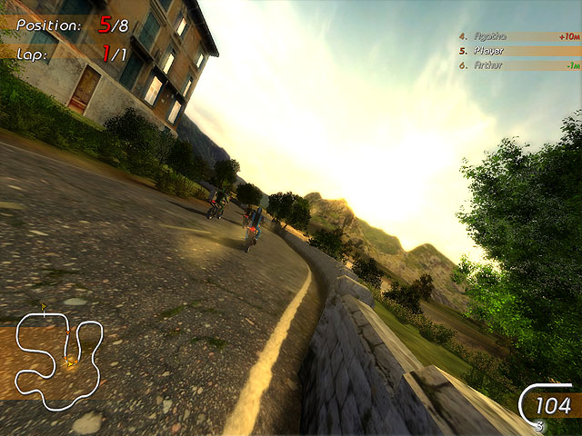 Click to view Super Moto Racers 1.99.3 screenshot