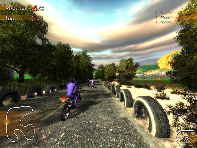 Super Moto Racers Screenshot 5