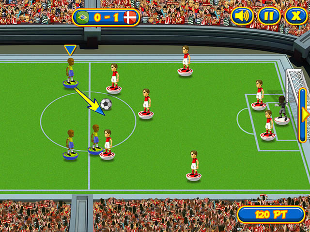 Tactical soccer game.